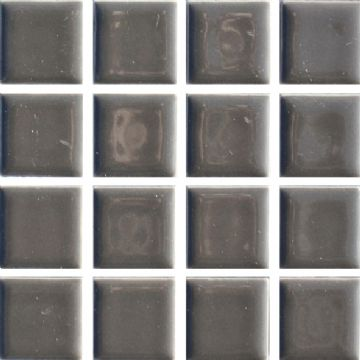 Waxman CG-139 Gunmetal Grey - Ceramic Pool Tiles - 10 Sheet Pack